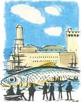 La sardine qui a bouch le vieux port de marseille - Sardine port de marseille ...
